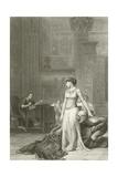 Cleopatra and Caesar Giclée-Druck von Jean Leon Gerome