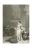 Cleopatra and Caesar Giclee Print by Jean Leon Gerome