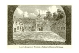 Laud's Palace at Fulham.--Falkner's History of Fulham Giclee Print by  English School