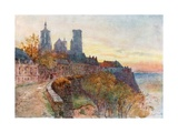 The Ramparts, Laon Giclee Print by Herbert Menzies Marshall