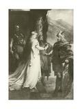Gotterdammerung, Act I Giclee Print by Ferdinand Leeke