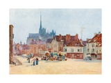 The Place Vogel, Amiens Giclee Print by Herbert Menzies Marshall