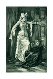 Before the Murder of James I at Perth Giclee Print by Gordon Frederick Browne