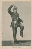 Fred Kitchen, Dancing Policeman Photographic Print