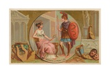 Aspasia and Pericles Giclee Print