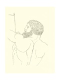 Hercules, Full of Dignity, Strength and Valour, Calmly Destroying the Stymphalades Giclee Print