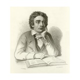 John Keats Giclee Print by Joseph Severn