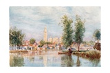 Perigueux from the River Giclee Print by Herbert Menzies Marshall