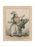 A Little Tighter Giclee Print by Thomas Rowlandson
