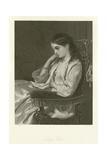 Lady Flora Giclee Print by Francis John Wyburd