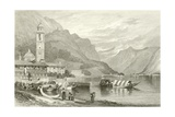 The Lake of Como, Italy Giclee Print by Samuel Prout