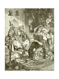 Persian Story Teller Giclee Print