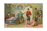 The Young Shakespeare Accused of Poaching, 1584 Giclee Print