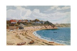 Bathing Beach, Falmouth Giclee Print by Alfred Robert Quinton