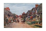 Wrye Village, Lancashire Giclee Print by Alfred Robert Quinton