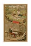 Textiles Giclee Print