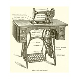 Sewing Machine Giclee Print