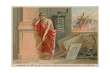 Archimedes, Greek Scientist, Mathematician and Inventor of the 3rd Century BC Giclee Print