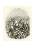 Battle of Flodden Giclee Print by Herbert Gustave Schmalz