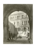 The Giants Stairs, Ducal Palace, Venice Giclee Print by William Leighton Leitch