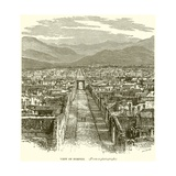 View of Pompeii Giclee Print