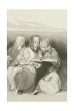 Hebrew Women Reading the Scriptures at Jerusalem Giclee Print by Sir David Wilkie
