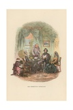 Illustration for David Copperfield Giclee Print by Hablot Knight Browne