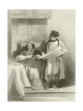 Napoleon and the Pope at Fontainebleau Giclee Print by Sir David Wilkie