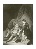 Henry Viii and Catherine Parr Giclee Print by Robert Smirke