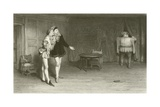 Prince Henry Poins and Falstaff Giclee Print by Sir William Quiller Orchardson