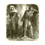 Macbeth Giclee Print by Sir John Gilbert