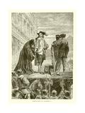 Execution of Charles I Giclee Print