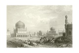 Tombs of the Kings of Golconda Giclee Print by William Purser
