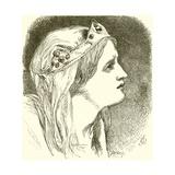 Cordelia Giclee Print by Sir John Gilbert
