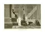 The Pope at the Feet of St. Peter Giclee Print