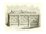 Tomb of King John, at Worcester Giclee Print