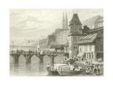 Basle, on the Rhine Giclee Print by Samuel Prout