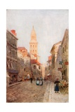 A Street in Perigueux Giclee Print by Herbert Menzies Marshall