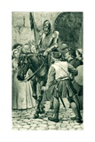 A Survivor of Flodden Giclee Print by Alfred Pearse