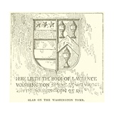 Slab on the Washington Tomb Giclee Print