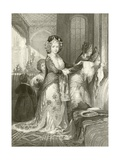 The Favorite Odalique Giclee Print by Thomas Allom