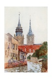The Tower of Evreux Giclee Print by Herbert Menzies Marshall