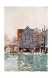 The Old Mills at Meaux Giclee Print by Herbert Menzies Marshall