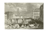 The Bridge of Santa Trinita Giclee Print by James Duffield Harding