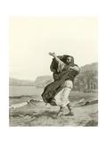 Demosthenes Practicing Oratory Giclee Print by Jean Jules Antoine Lecomte du Nouy