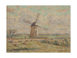 Windmill of Artois Giclee Print by Henri Duhem