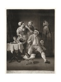 The Profligate Punished by Neglect and Contempt, Print Made by Valentine Green, 1775 Giclee Print by Edward Penny