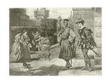 Othello. Act III, Scene III Giclee Print by Felix Octavius Carr Darley