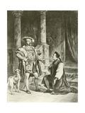 King Henry Viii. Act V-Scene I Giclee Print by Felix Octavius Carr Darley