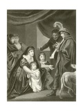 Lady Elizabeth Gray Entreating Edward IV to Protect Her Children Giclee Print by John Opie